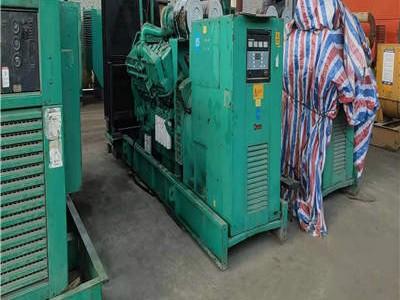 汕头发电机出租为太平洋建设集团项目供电